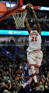 jimmy butler dunk.  Dunk Chicago Bullsu0027 Jimmy Butler Dunks During The Second Half Of A Basketball  Game Against For Dunk