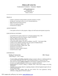 Resume Templates For Insurance Claims Adjuster Claims Adjuster Resume Templates shalomhouseus 1