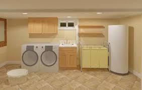 Unfinished Basement Laundry Room Ideas Home Design Ideas Basement