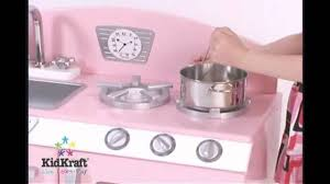 Kid Craft Retro Kitchen Kidkraft Pink Retro Kitchen Refrigerator Mambokids Youtube