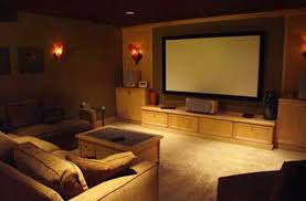 Home Theater Extraordinaire Associated Housewrights