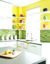 kitchen green modern kitchens decorated with yellow and green colors green kitchen countertops materials