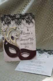 Sweet Sixteen Masquerade Party Invitation Masquerade Invite   Etsy in 2020    Masquerade party invitations, Masquerade invitations, Sweet sixteen  invitations