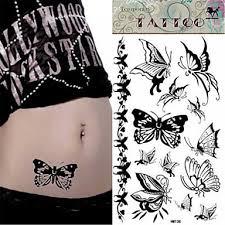 1 Pcs Non Toxic Velká Velikost Spodní část Zad Dočasné Tetování Zvířecí řada Velká Velikost Tělesné Arts
