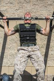Military Workout Chart Military Muscle 5 Weight Vest Workouts For All Levels