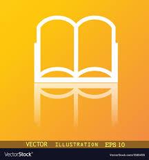 Free Web Design Books Pdf Open Book Icon Symbol Flat Modern Web Design With