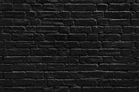 74 712 best black painted brick wall