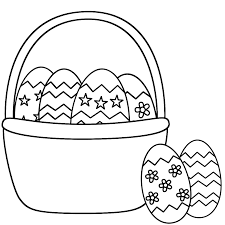Small Picture Collection of Solutions Easter Basket Coloring Page Also Proposal