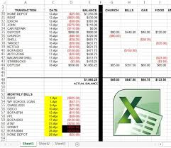 How To Use Excel For A Budget Custom Excel Budgeting Spreadsheet