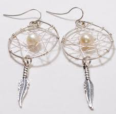 Dream Catcher Earings Interesting Dream Catcher Earrings Hungry Cat Cafe Jewelry