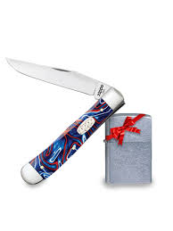<b>Нож перочинный Patriotic</b> Kirinite Smooth Trapper.Подарок ...