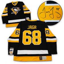 Signed Memorabilia Autographed Jagr amp; Jaromir