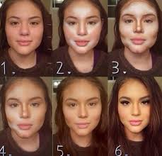 makeup how to make your nose look thinner with