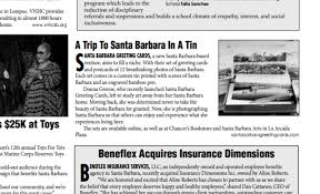 in the press santa barbara greeting cards beneflex mobile guide