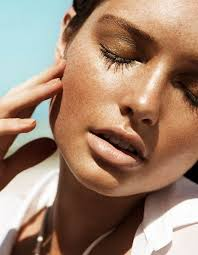 sandrah berg is a bronzed beauty for fredrik werstedt in dv mode summer 2016