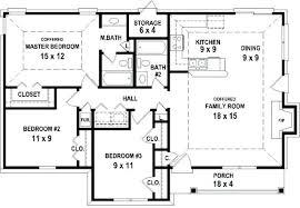 plans house plan 3 bedroom 2 bath plans 1 story design bedrooms house plans 3