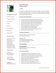 Luxury Accountant Cv Format In Word Wing Scuisine
