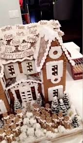 that sweet gingerbread house looks good enough to eat image snap kyliejenner