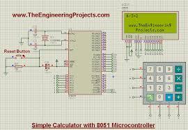 design calculator with 8051 microcontroller calculator with 8051 calculator design 8051 8051 calculator
