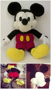 Mickey Mouse Crochet Pattern Free Cool Decorating Design