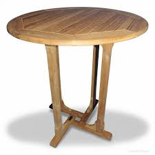 teak bar table round 36 inch