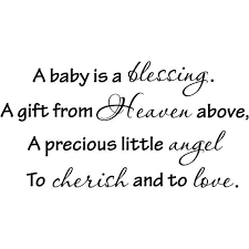 Welcome To Christian World Quotes Best of Baby Quotes Lovely Gift For A Baby Shower A Quote Is A Visual