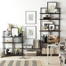 Charming Connections 2.0 Shelving Black Wall Unit