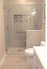 Half Wall Between Toilet And Shower Bathroom Remodel Shower Master Bathroom Renovation Bathroom Remodel Master