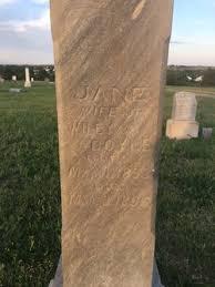 Malissa Jane Adams Doyle (1853-1895) - Find A Grave Memorial