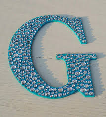 wall letters decorative sparkle 9 turquoise bling decorative wall letters girls room decor nursery wall decor