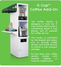 Kcup Vending Machine Stunning Versatile HUMAN Food And Beverage Healthy Vending Machine