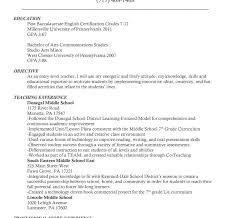 Teaching Assistant Resume Teacher Resume Template Free Education Example Curriculum Vitae 67