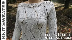Women's Sweater Knitting Patterns