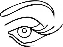 Small Picture cartoon eyes coloring pages pair of eyes coloring five senses
