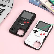 Ốp điện thoại cứng hình máy chơi game cầm tay màn hình nhiều màu cho iPhone  11 Pro