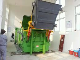 Bin Tipper Design Waste Collection Truck Trash Container Bin Lifter Garbage