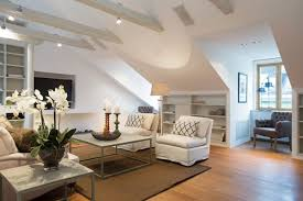 Featured Image of Beautiful Attic Living Room Design