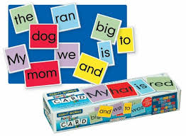 Playmonster Lauri Pocket Chart Cards Sight Words