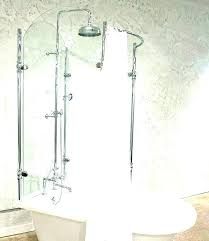 bathtub to shower conversion kits tub kit surround for glass claw foot into show 3 step bathtub shower to conversion