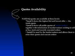 Nasdaq Quote Impressive Difference Btw Nyse Nasdaq