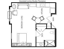 Building Modular  General Housing CorporationAssisted Living Floor Plan
