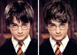 how j k rowling imagined the harry potter characters vs how they were portra in the s