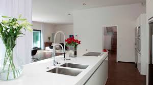 Red And White Kitchens Charming The Best And Modern White Kitchen Modern White Kitchen