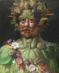 in the 16th century people went crazy for portraits made up of fruits and veggies