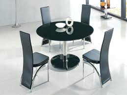 maxi glass extending round dining table tables