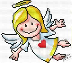 Angel Cross Stitch Patterns Enchanting FREE PATTERNS Diverse Angel Gvello Stitch