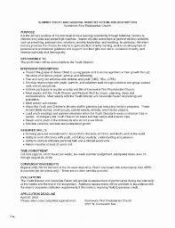 Resume Fresh Sports Resume Template Sports Resume Template New
