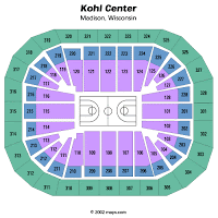 Uw Kohl Center Seating Chart Wisconsin Sports Fan Shoots From The Hip September 2007