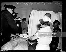 Nichols girl stabbing by ex-husband, 11 September 1956. Miss Ida... News  Photo - Getty Images
