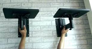 wall mounted speaker bracket speaker shelves wall mount wall speaker shelves full motion speaker speaker shelves